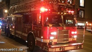 Download High-rise fire - Chicago fire department [Ride along] Video