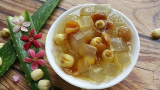 Download Cách nấu Chè Hạt Sen Nha Đam đường phèn cho ngày hè hết nóng Video