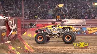 Download Max-D Double Backflip attempt - Monster Jam World Finals XIV Encore 2013 - Max-D 10th Anniversary Video