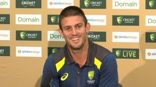 Download I am doing my best to make the No.6 position mine - Mitchell Marsh Video