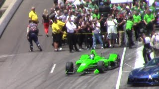 Download Danica Patrick 2018 Indy 500 Bump Day- QUALIFIES FOR THE FAST 9 - PURE SOUND and CROWD REACTION Video