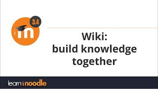 Download Wiki: Moodle 3.4 Video