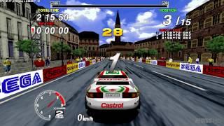 Download Sega Rally Championship 1995 Arcade : Sega Model 2 Emulator 1.0 (Logitech G25 manual) Video