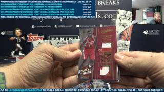 Download 2016 17 Panini Absolute Basketball Hobby 10 Box Case Break #2 – PICK YOUR TEAM Video