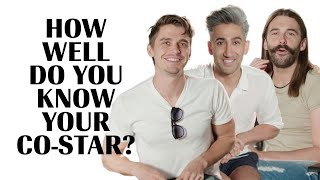 Download The Cast of Queer Eye Play 'How Well Do You Know Your Co-Star' Marie Claire Video