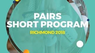 Download Mishina Anastasia / Galliamov Aleksandr (RUS) | Pairs Short Program | Richmond 2018 Video