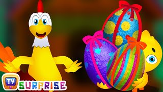 Download Birthday Surprise Gone Wrong | Easter Surprise Eggs Funny Cartoon Shows for Kids | ChuChu TV Video