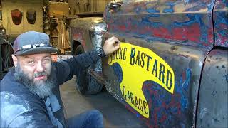 Download How to lettering on your doors the easy way, on your Rat rod or Hotrod Video