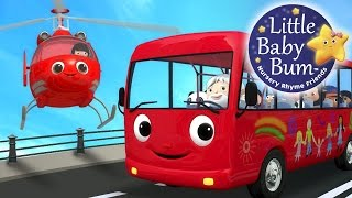 Download Wheels On The Bus | Part 13 | Nursery Rhymes | By LittleBabyBum! Video