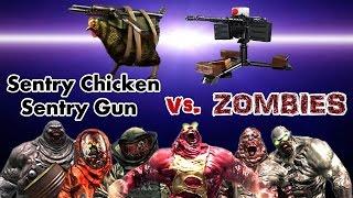 Download Dead Trigger 2 Sentry Chicken & Sentry Gun vs. Zombies HD Video