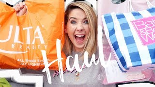 Download Huge American Haul (Ulta Beauty, Bath & BodyWorks, Glossier & Duane Reade) | Zoella Video
