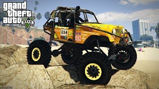 Download COMPETITION CRAWLER IN GTA 5?! 4x4 Off-Road Crawling & Mudding! (GTA 5 PC Mods) Video
