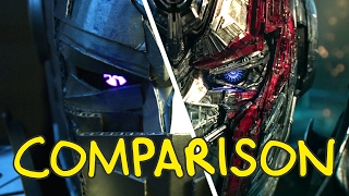 Download Transformers: The Last Knight - Homemade Side by Side Comparison Video
