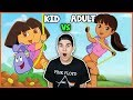 Download Cartoon Characters Reimagined As Adults Video