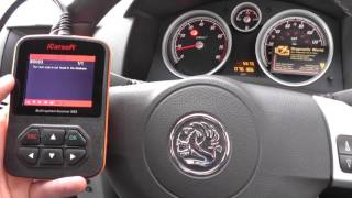Download iCarsoft i902 Airbag Light Reset Fault Code B0083 Front Impact Sensor Video