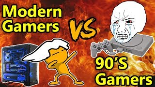 Download 90s Gamers VS Modern Gamers Video