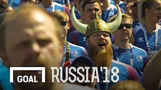 Download Iceland fans: one heart beats together Video