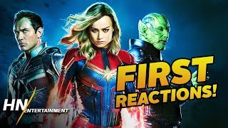 Download Captain Marvel First Reactions REVEALED Best Marvel Villain Yet? Video