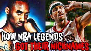 Download How 7 NBA LEGENDS Got Their FAMOUS NICKNAMES! Video