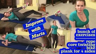 Download Bunch of exercises - Improve with Marta Video