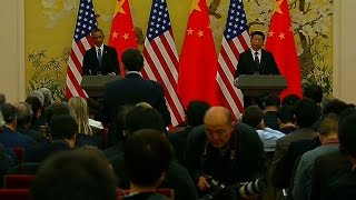Download Chinese President Xi Jinping ignores a question from an American reporter Video