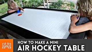 Download Mini Air Hockey Table // How-To Video