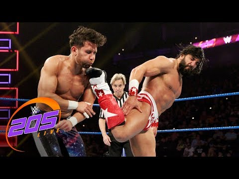 Noam Dar vs. Tony Nese: WWE 205 Live, Jan. 9, 2019