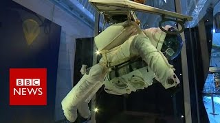 Download A record breaking space suit - BBC News Video