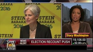 Download Election Recount Push by Jill Stein via Hillary Clinton? - Stacy Washington Video