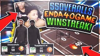 Download MY BROTHER AND I GET ON 55 OVERALLS😱 AND BEAT A 40 GAME STREAK 😳• MYPARK CHALLENGE😳 Video