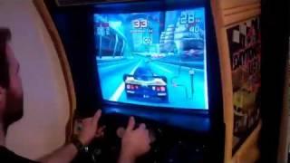 Download Sega Arcade Racing Emulator Cabinet + REAL Daytona Force Feedback Motor!! Video