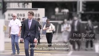Download Priit Tohver, Regional Director, International Federation of Medical Students' Associations, Estonia Video