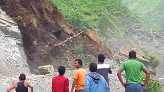 Download Kavre bhir way to mustang - landslide Video