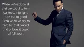 Download John Legend - Love Me Now | Lyrics on Screen Video