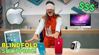Download Buying EVERYTHING I Touch Blindfolded! **APPLE STORE CHALLENGE** | The Royalty Family Video