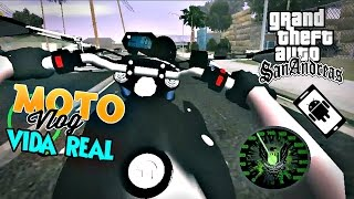 Download #8°episódio de Motovlog vida real=[GTA:SA android]=pião de Xj6 do meu amigo!! Video