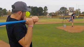 Download BLITZBALL PRO BATTLE! Matt Sauer (NYY-2nd Rd. Pick/RHP) vs. Mighty Goat (for $1,500 in charity) Video