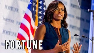 Download Michelle Obama: Fortune's Most Powerful Women show what educated women can do | Fortune Video