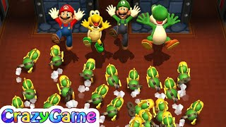 Download Mario Party - Mario v Luigi v Koopa v Yoshi (Unlucky Player Master Difficult) | CRAZYGAMINGHUB Video