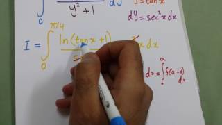 Download Integral of ln(x+1) / (x^2 + 1) from 0 to 1 Video