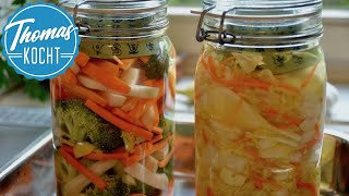 Download Gemüse fermentieren und haltbar machen / fermentierter Chinakohl / Thomas kocht Video