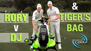 Download Carrying TIGER WOODS Bag & DUSTIN VS RORY Long Drive! Video