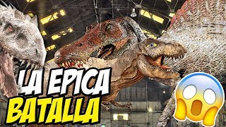 Download PELEAS EPICAS DE DINOSAURIOS - REX VS SPINO!! - Beast Battle Simulator Video