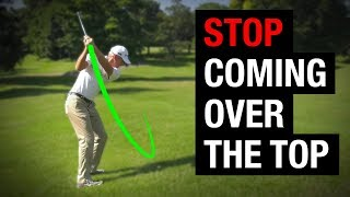 Download Why You're Coming Over The Top In Your Golf Swing + How To Fix It! Video