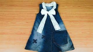 Download خياطة فستان من بنطلون قديم بكل بساطه Video