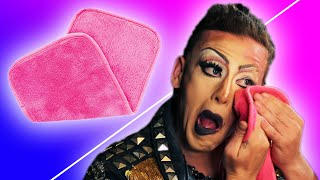 Download Drag Queen Vs. Makeup Erase Cloth Video