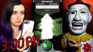 Download DO NOT Use This Ghost Tracker App at 3AM on Halloween (HAUNTED Clown Antique) Video