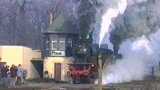 Download Führerstandsmitfahrt mit Dampflok 03 1010 mit Vorspann- u. Schiebelok / Cab ride on steam engine Video