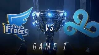 Download AFS vs C9 | Quarterfinal Game 1 | World Championship | Afreeca Freecs vs Cloud9 (2018) Video