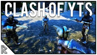 Download Clash of the Youtubers! - NEW ARK MOD - Ark SOTF Deathmatch #1 Video